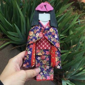 Oriental Asian Paper Xmas Holiday Decor Ornament